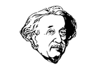 Coloring pages Einstein