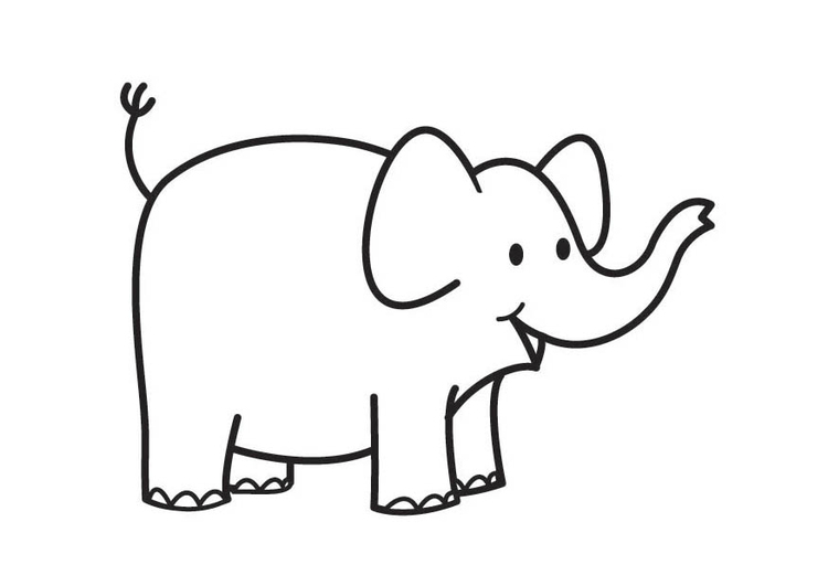 Coloring Page Elephant Free Printable Coloring Pages
