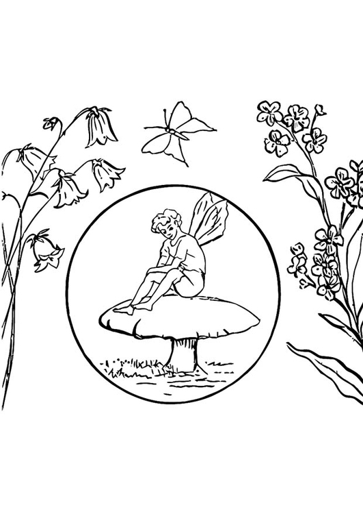 Coloring Page Elf Free Printable Coloring Pages