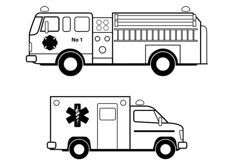 coloring page emergency services img 24631 images. Black Bedroom Furniture Sets. Home Design Ideas