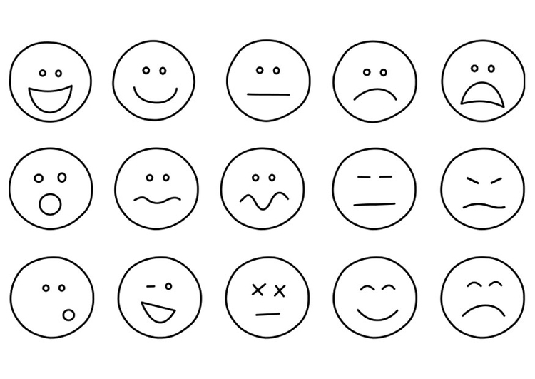 Free Printable Coloring Pages Emotions 2015
