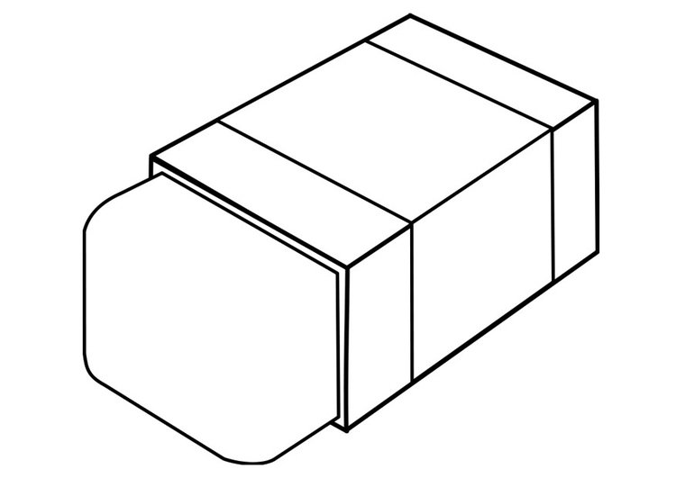 Coloring page eraser