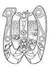 Coloring pages eucharist