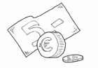 Coloring page Euro