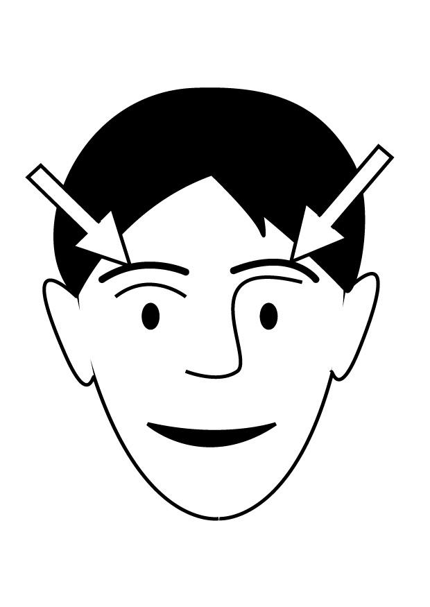 Coloring Page Eyebrows Img 26935