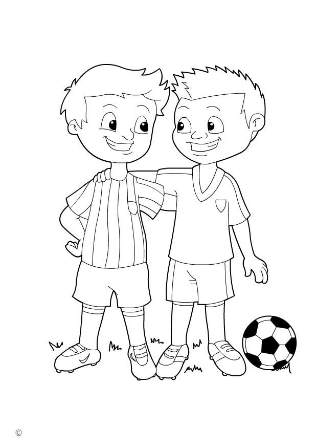 Coloring Page Fair Play Free Printable Coloring Pages