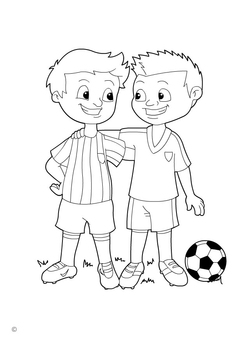 Coloring page fair play