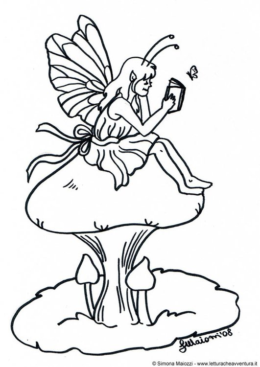 Mushroom coloring sheet A4 printable instant download color | Etsy | 750x531