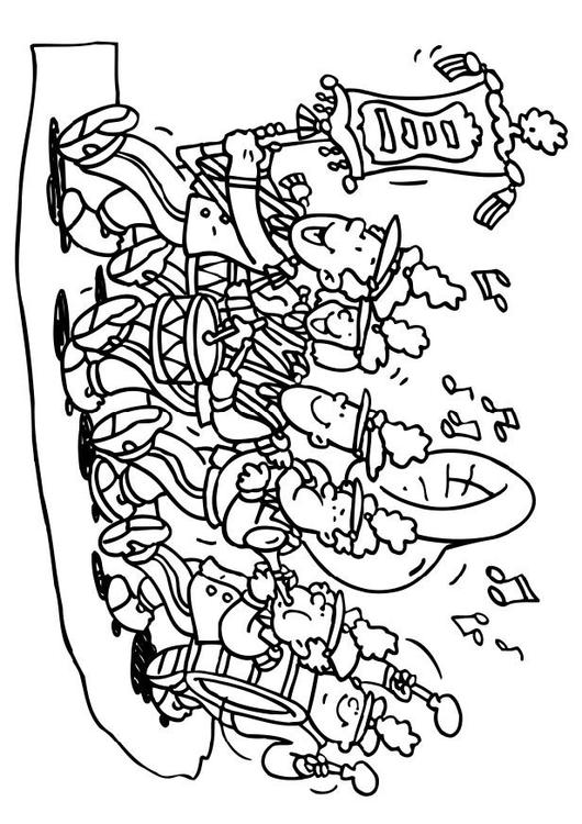 Coloring Page Fanfare Img 6494