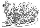 Coloring pages fanfare