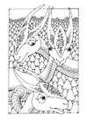 Coloring pages fantasy animals