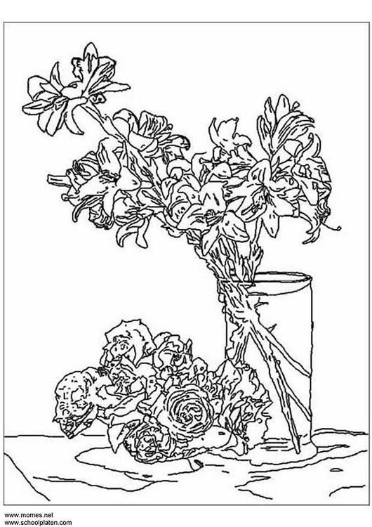 Coloring page Fantin-Latour - img 3116.