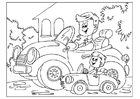 Coloring pages Father's Day 01