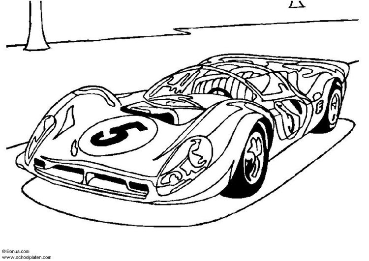 Coloring Pages : Ferrari Racing Car Coloring Pages Race Page ... | 531x750