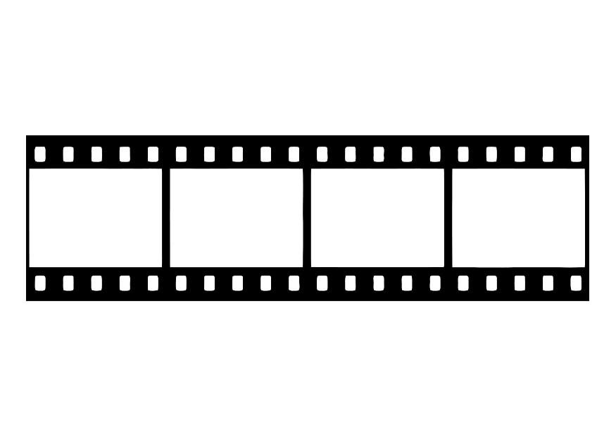 film strip coloring pages - photo#2