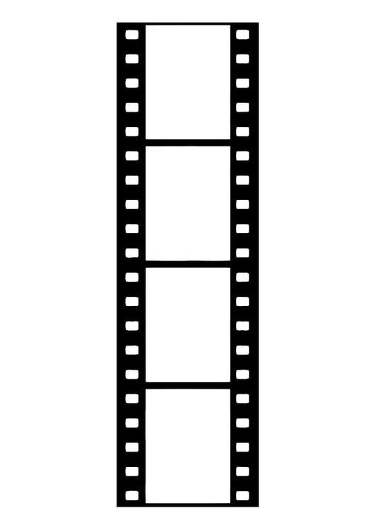 film strip, film negative