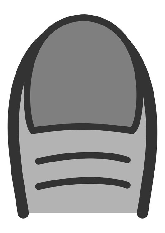 Coloring page fingernail