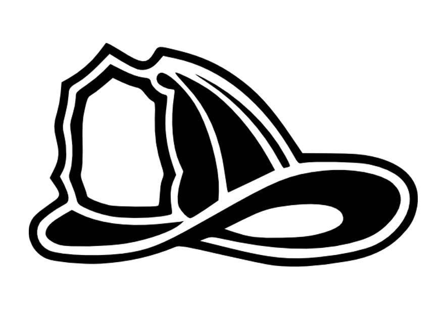 coloring page brigade helmet img 16656