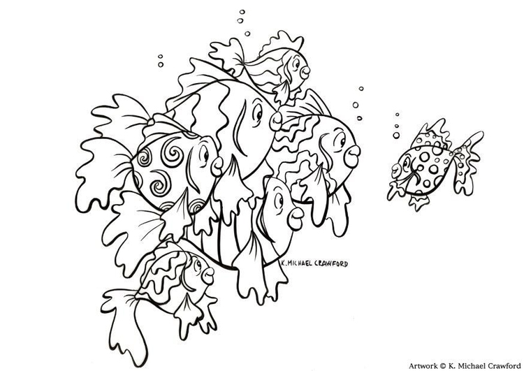 Coloring Page Fish Free Printable Coloring Pages