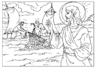 Coloring pages fishers of men