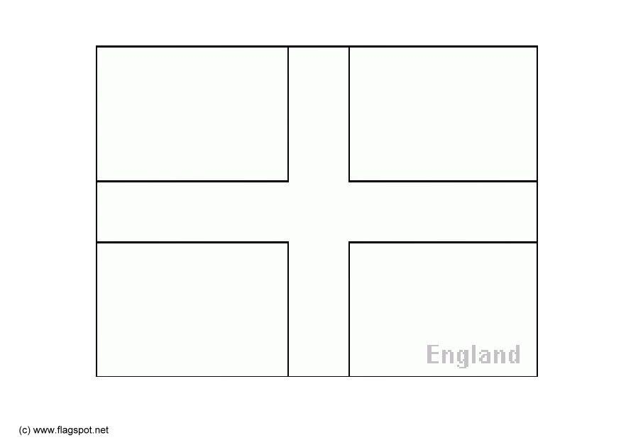 91 Coloring Page Union Jack Flag