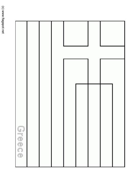 Coloring page flag greece img 6370 for Belgium flag coloring page