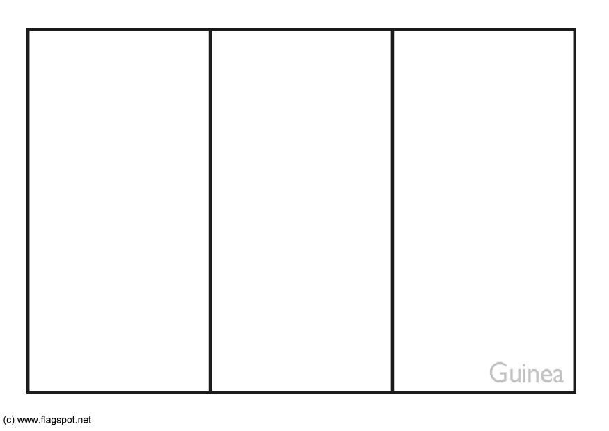 Coloring Page Flag Guinea Free Printable Coloring Pages