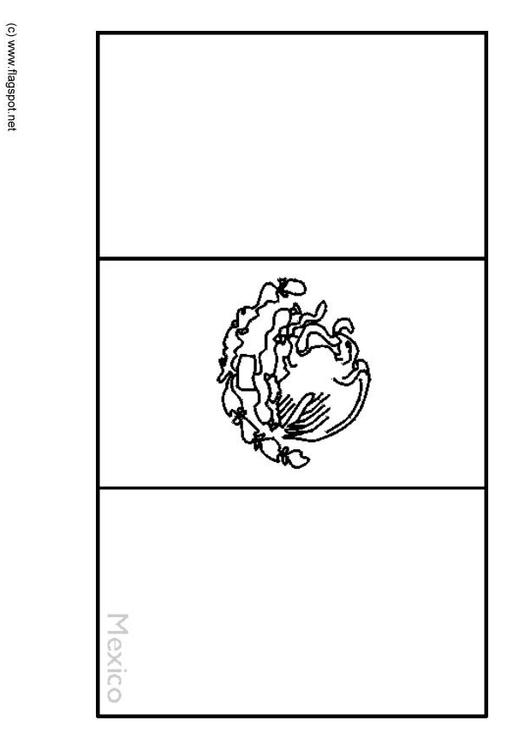 Mexican Flag Coloring Pages Simple New Mexico Map Coloring Page