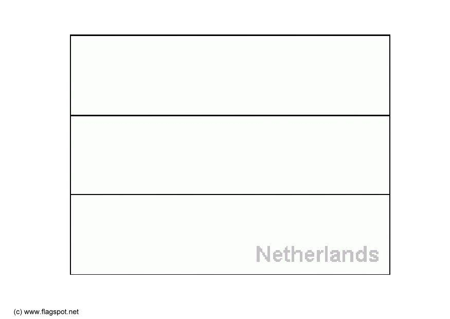 hollands national flag coloring pages - photo#13