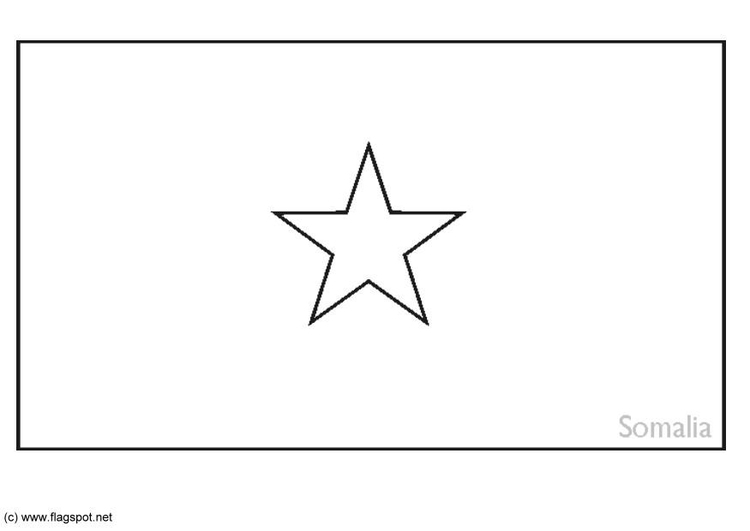 coloring page flag somalia  img ., coloring pages