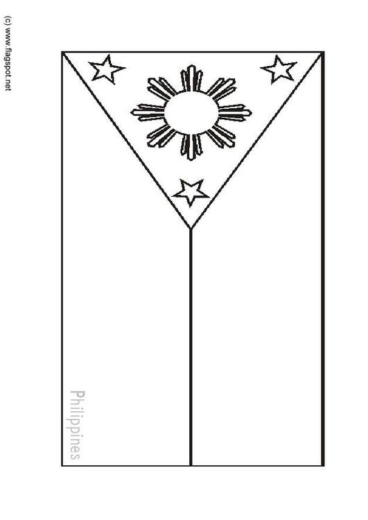 filipino flag coloring pages - photo#26