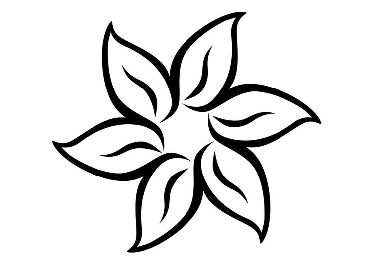 Coloring Page Flower Free Printable Coloring Pages Img 10707