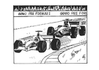 Coloring pages Formula 1