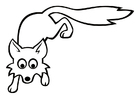 Coloring pages fox
