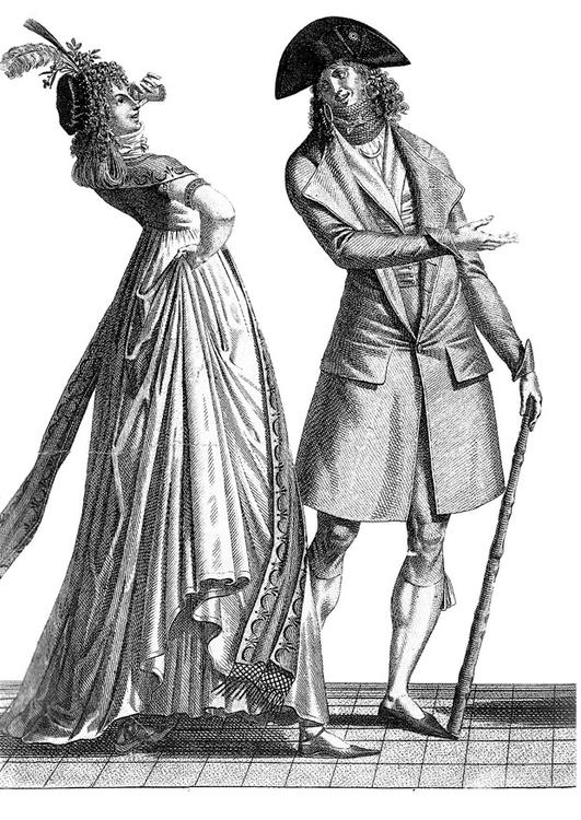 French formal court styles 1793