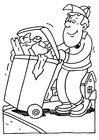 Coloring pages garbage collector