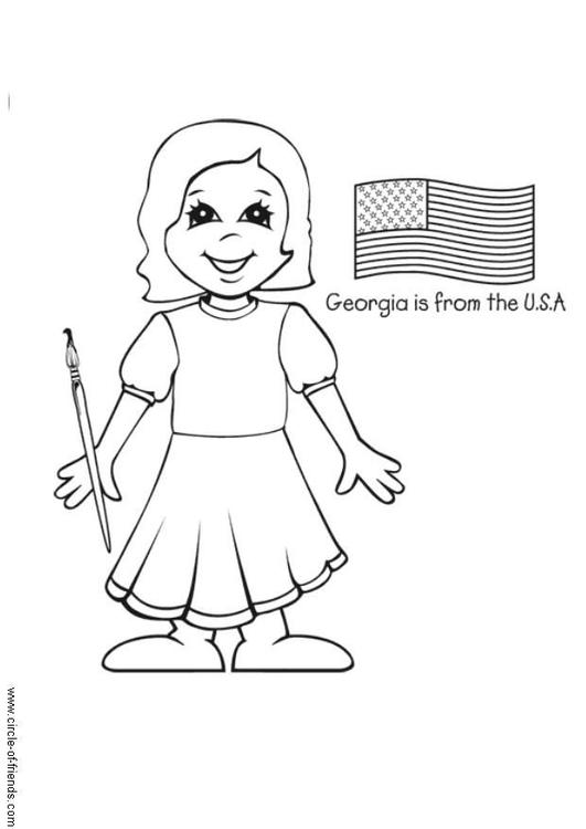 Georgia from the USA