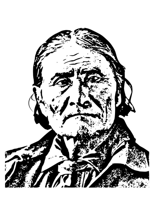Coloring page Geronimo