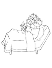 Coloring page get well soon