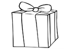 Coloring pages gift
