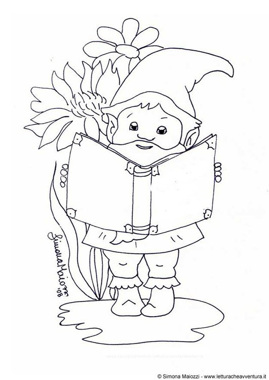Coloring Page Gnome Free Printable Coloring Pages