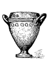 Coloring pages goblet