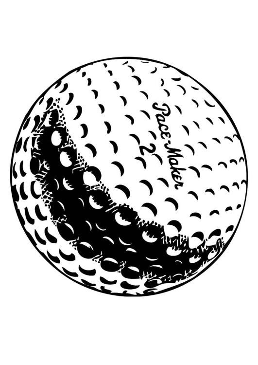 golf balls coloring pages - photo#9