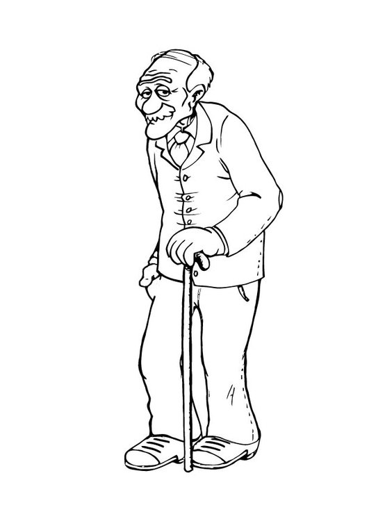 grandfather free coloring pages