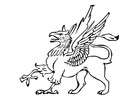 Coloring pages griffin
