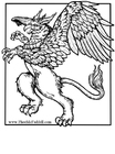 Coloring page griffin