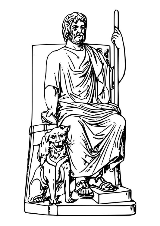 Coloring page hades img 18593 for Hades coloring page