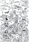 Coloring pages Halloween