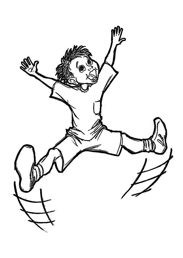Coloring page happy  img 9224