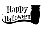 Coloring pages happy Halloween
